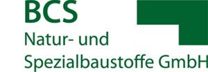 Logo BCS Natur- und Spezialbaustoffe GmbH